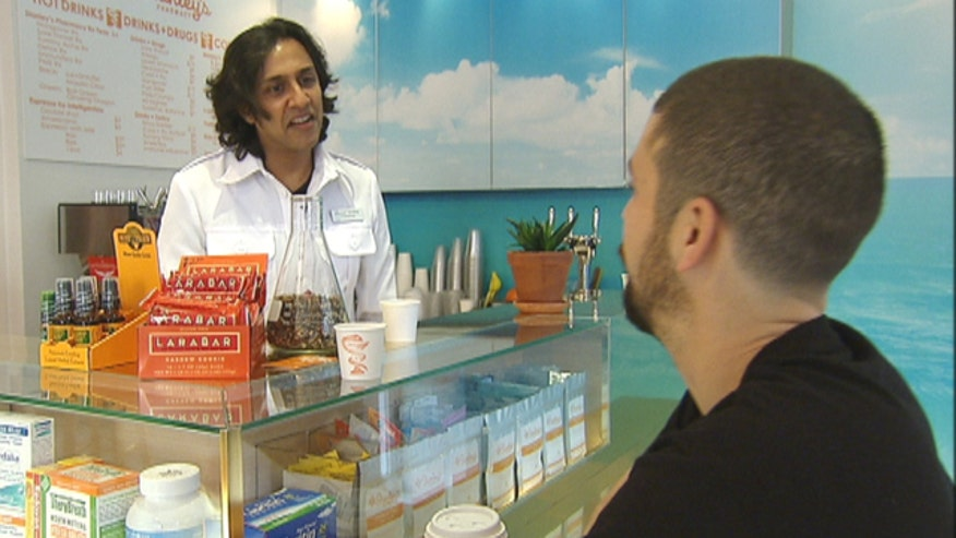 At Stanley's Pharmacy you can do much more than just have your prescriptions filled. Stanley George, the pharmacist, integrates alternative remedies into his unique store on New York City's Lower East Side