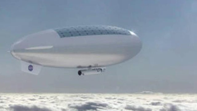 NASA planning a floating cloud city above Venus? | On Air ...