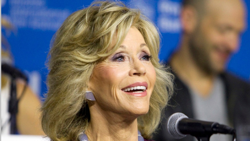 Jane Fonda has a shrine to herself