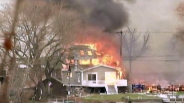 Police scanner audio released from deadly 'fire trap'