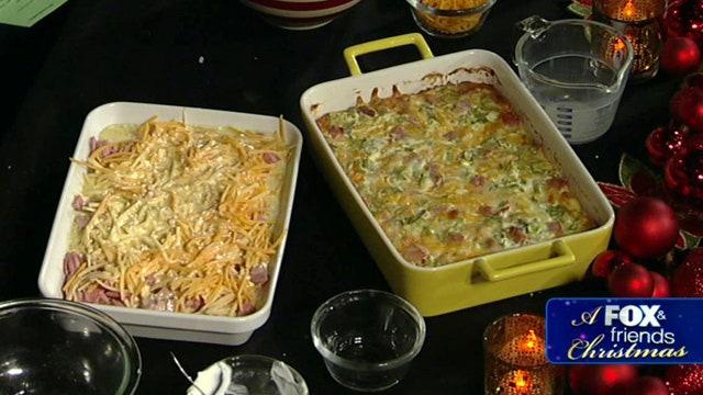 Paula Deen's Christmas feast