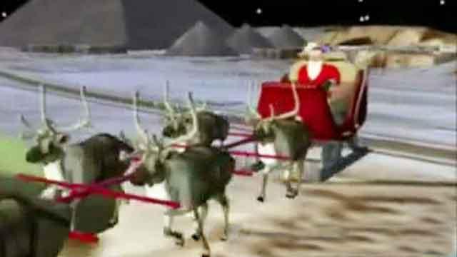 NORAD tracks Santa Claus