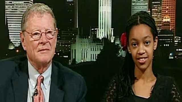 Sen. Inhofe on his granddaughter's adoption from Africa