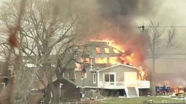 2 firefighters shot, killed at scene of fire