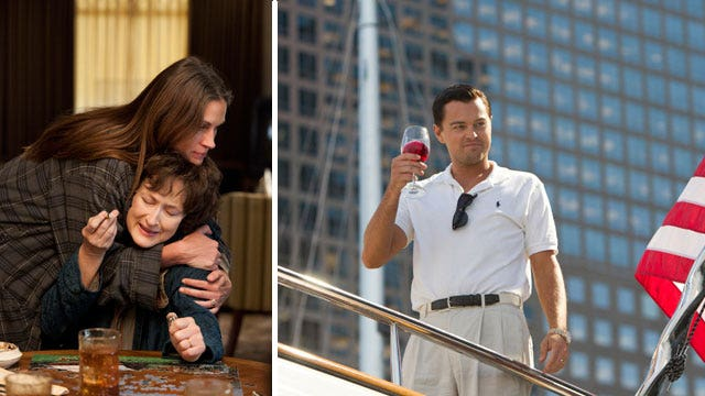 'Wolf of Wall Street,' 'August: Osage County' any good?