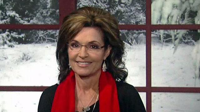 Sarah Palin's mission to save Christmas