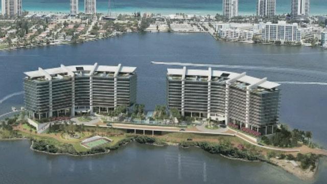 Millionaire vs. millionaire in private island condo proposal