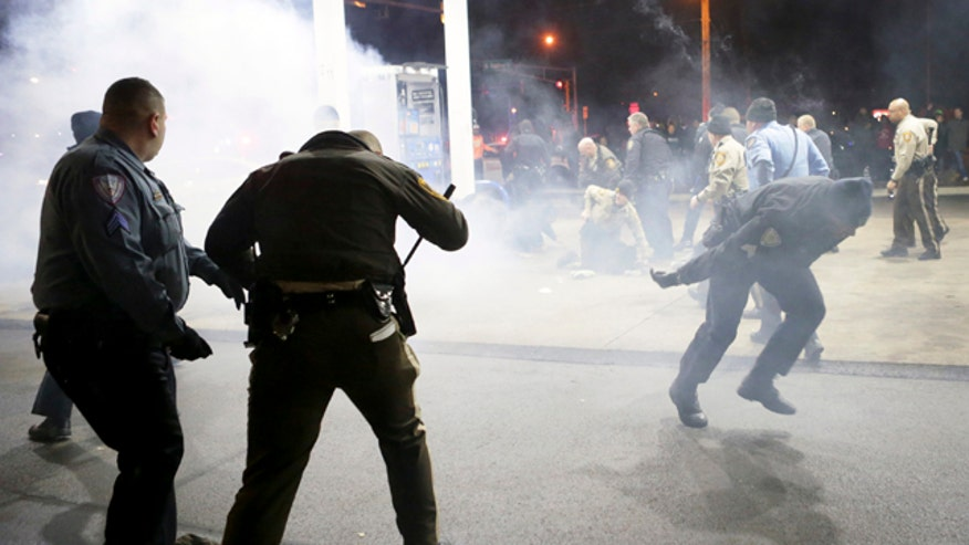 Protests erupt in Berkeley, Missouri after deadly incident