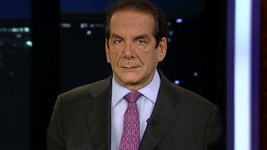 Charles Krauthammer said Wednesday that President Obama's long-held promise to close the Guantanamo Bay detention facility makes no sense, given the rate of detainees who end up again plotting against the United States.