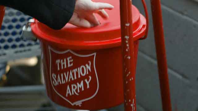 Salvation Army seeks fundraising goal as year winds down