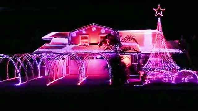 America's best Christmas lights