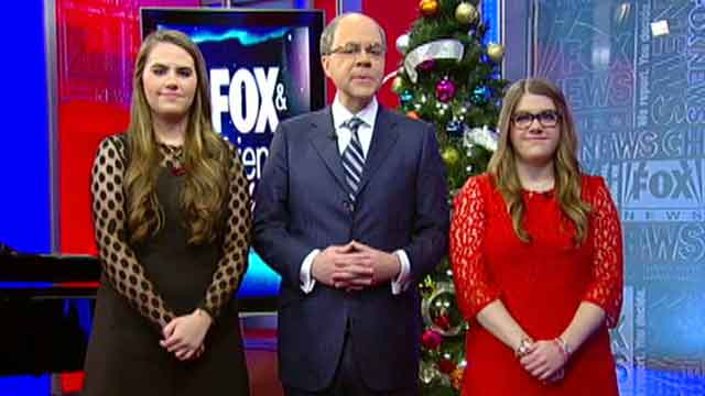 Peter Johnson Jr. and family share Christmas traditions