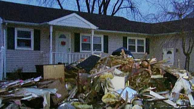 Christmas spirit survives Superstorm Sandy