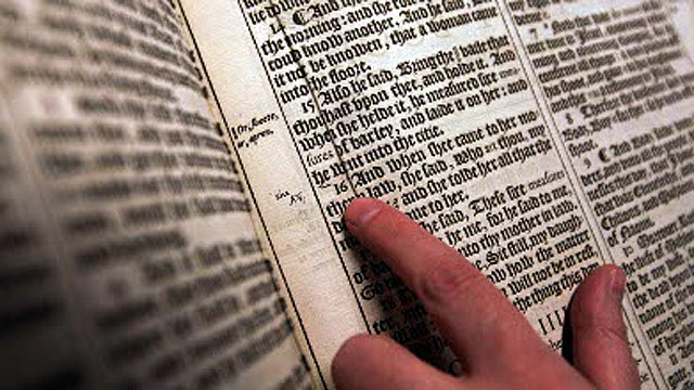 Should bible quotes be above reproach?