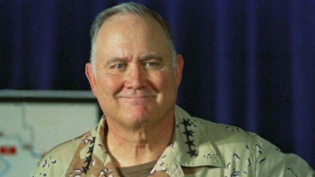 Persian Gulf War icon Schwarzkopf dies