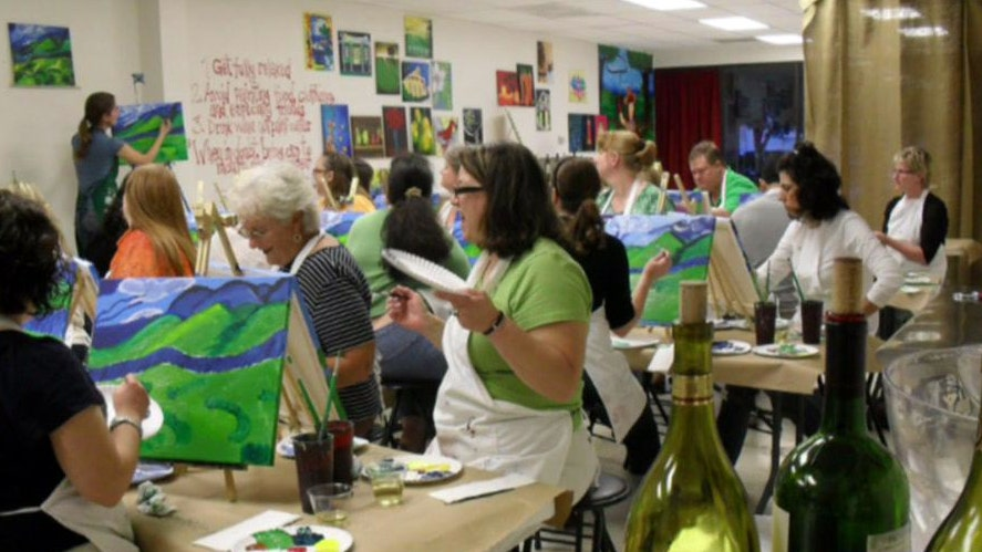 Painting With a Twist offers a unique night out