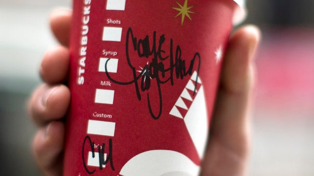 Starbucks wants Congress to 'come together'