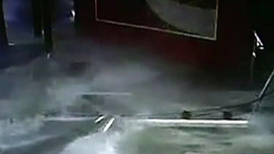 33-ton tank explodes in Shanghai, China