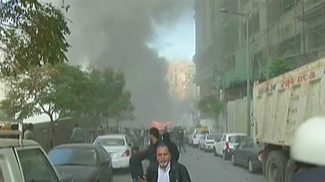 Massive explosion in Beirut, Lebanon