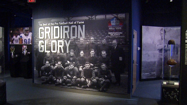 Pro football's Hall of Fame hits the road