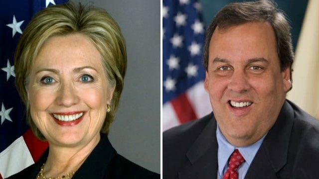 Clinton, Christie top of Fox 2016 polls