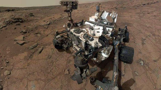 New year means new gear for NASA's Curiosity rover