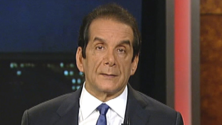 "However, Krauthammer also said Obama arguing against Congress on Iran sanctions, makes him appear weak, ""The president is simply not serious, and the Iranians know it as well."""