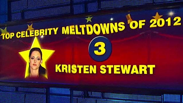 2012's biggest celebrity meltdowns