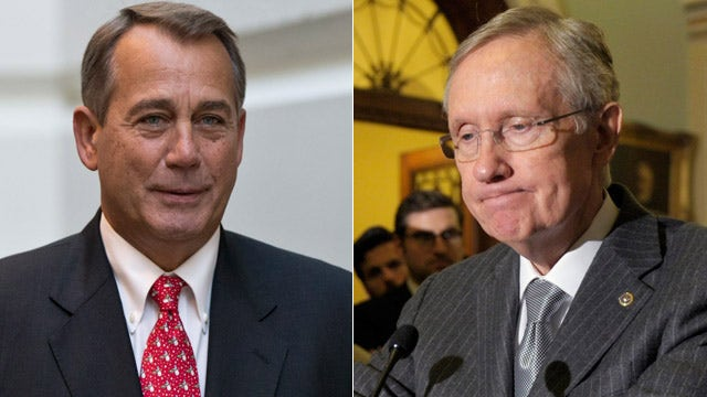 'Fiscal' pressure shifts from Boehner to Reid