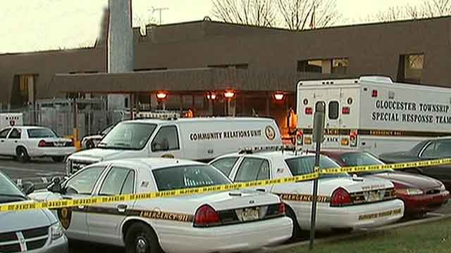Three cops reportedly shot inside N.J. police station