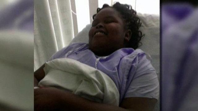 Family of girl declared brain dead hopeful for recovery