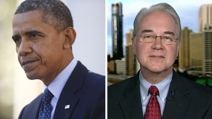 Rep. Tom Price on how law will impact Americans in 2014