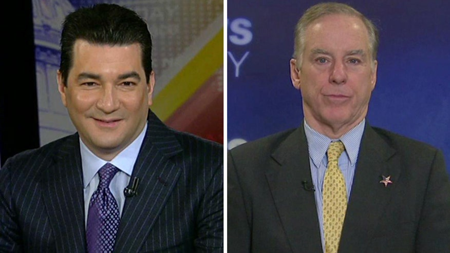 Gov. Howard Dean and Dr. Scott Gottlieb debate