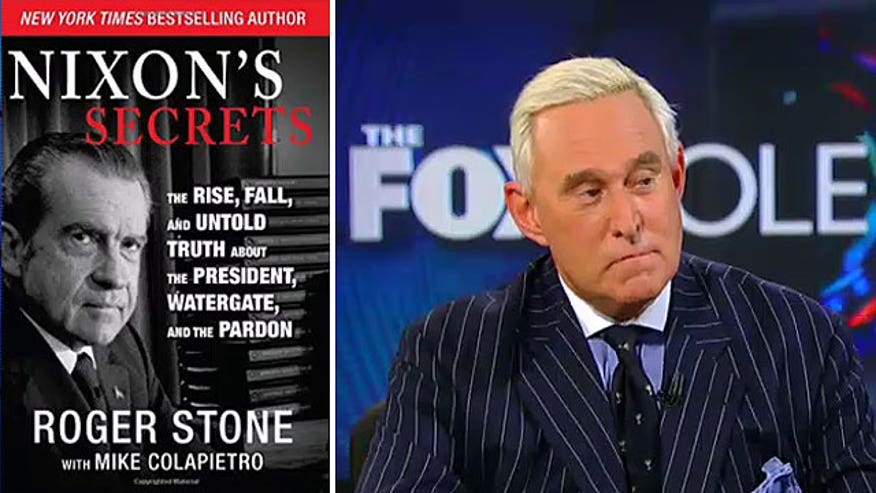 Roger Stone discusses his book, 'Nixon's Secrets: The Rise, Fall, and Untold truth about the President, Watergate, and the Pardon'