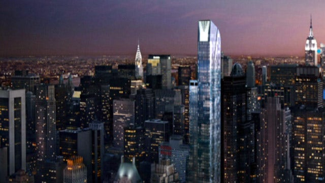 Luxury apartment buildings reaching new heights