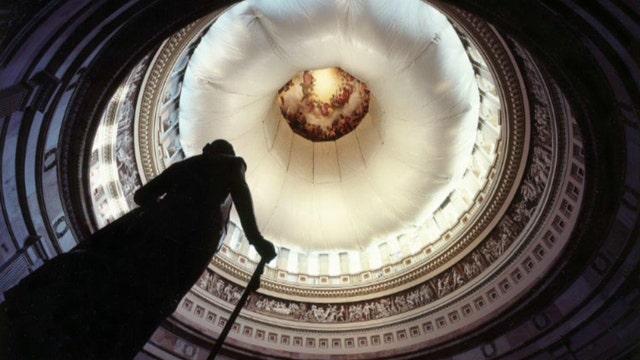 US Capitol building undergoing major restoration project