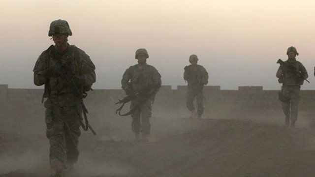 Is federal budget being balanced on soldiers' backs?