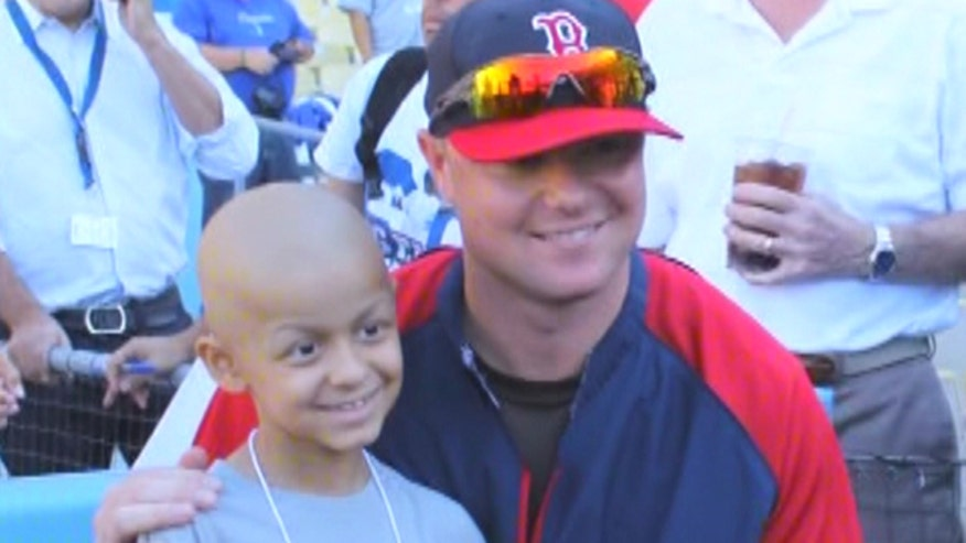 Red Sox pitcher and cancer survivor goes to bat for kids diagnosed with cancer