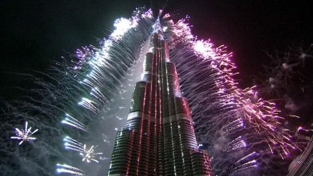 Dubai's New Year's fireworks display set to break record