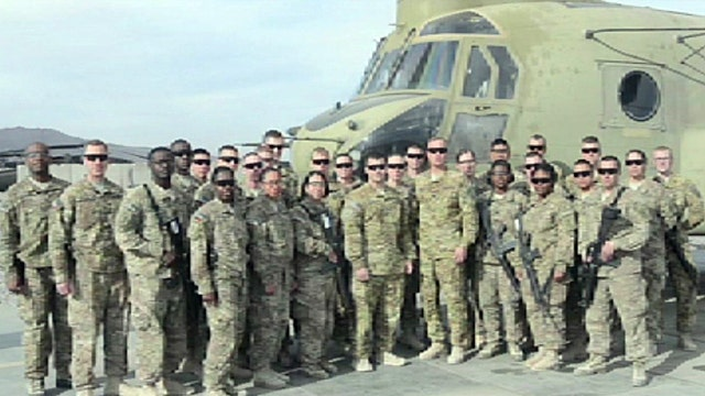 Jon Scott's son gives New Year's shout-out from Afghanistan