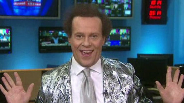 Richard Simmons wishes you a healthy new year