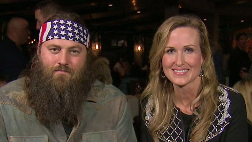 Willie and Korie Robertson sound off