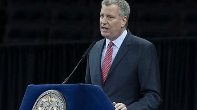 Police Union: Tensions not resolved after de Blasio meeting