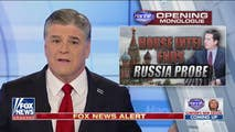 On Monday, Hannity sorts through the news that the House Intelligence Committee has ended it's investigation into collusion between the Trump Campaign and Russia, an exclusive interview with Vice President Mike Pence about Russian interference, and news about package bombings in Texas.