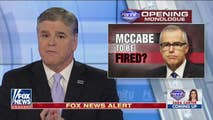 On Wednesday, Hannity breaks the news regarding former deputy Director Andrew McCabe's potential firing days ahead of his retirement, talks to Mark Levin about the Democrats on the House Intelligence Committee, and the liberal reaction to President Trump's nomination for CIA head.