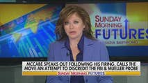 On Sunday, Maria Bartiromo talks about McCabe speaks out following firing, Historic White House visit of Saudi Crown Prince.  Also she does a one on one with Peter Thiel. Her guest and panel includes: Bob Goodlatte, Newt Gingrich, AMB. Robert Jordan, James Kallstrom, Ed Rollins, Al D'amato.