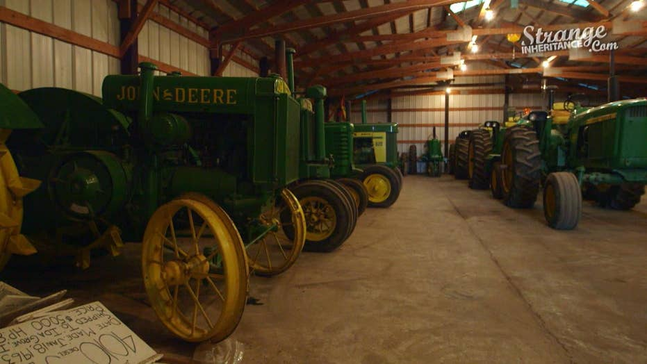 Strange Inheritance - Iowa Tractor - 103