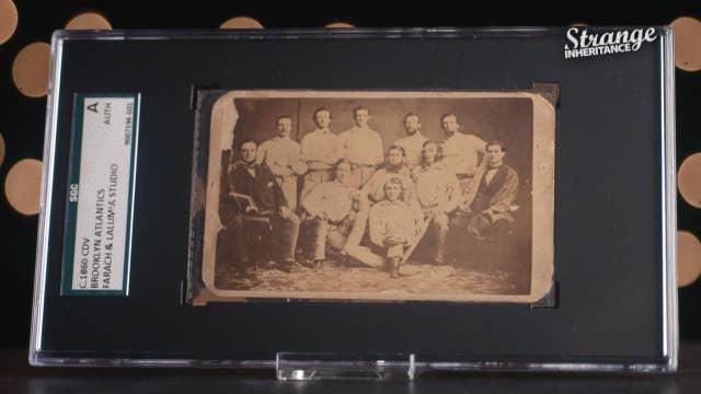 Strange Inheritance - Oldest Baseball Card - 217
