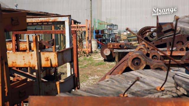 Strange inheritance industrial scale hoarder