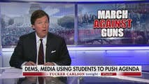"""On Friday, Tucker Carlson looks at the March for Our Lives, and asks who's really pulling the strings behind this swell of massive anti-gun protests. Then later, Tucker speaks with a former Pentagon official who claims that the reason we aren't hearing more about UFOs is that no politician wants to be """"The Alien Guy."""""""